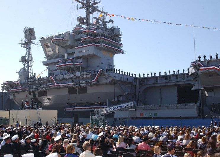 decommissioning ceremony for the uss john f kennedy cv 67 ships