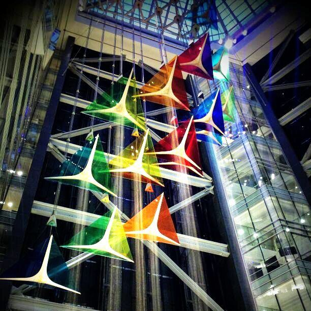The World S Tallest Indoor Water Sculpture Can Be Found In