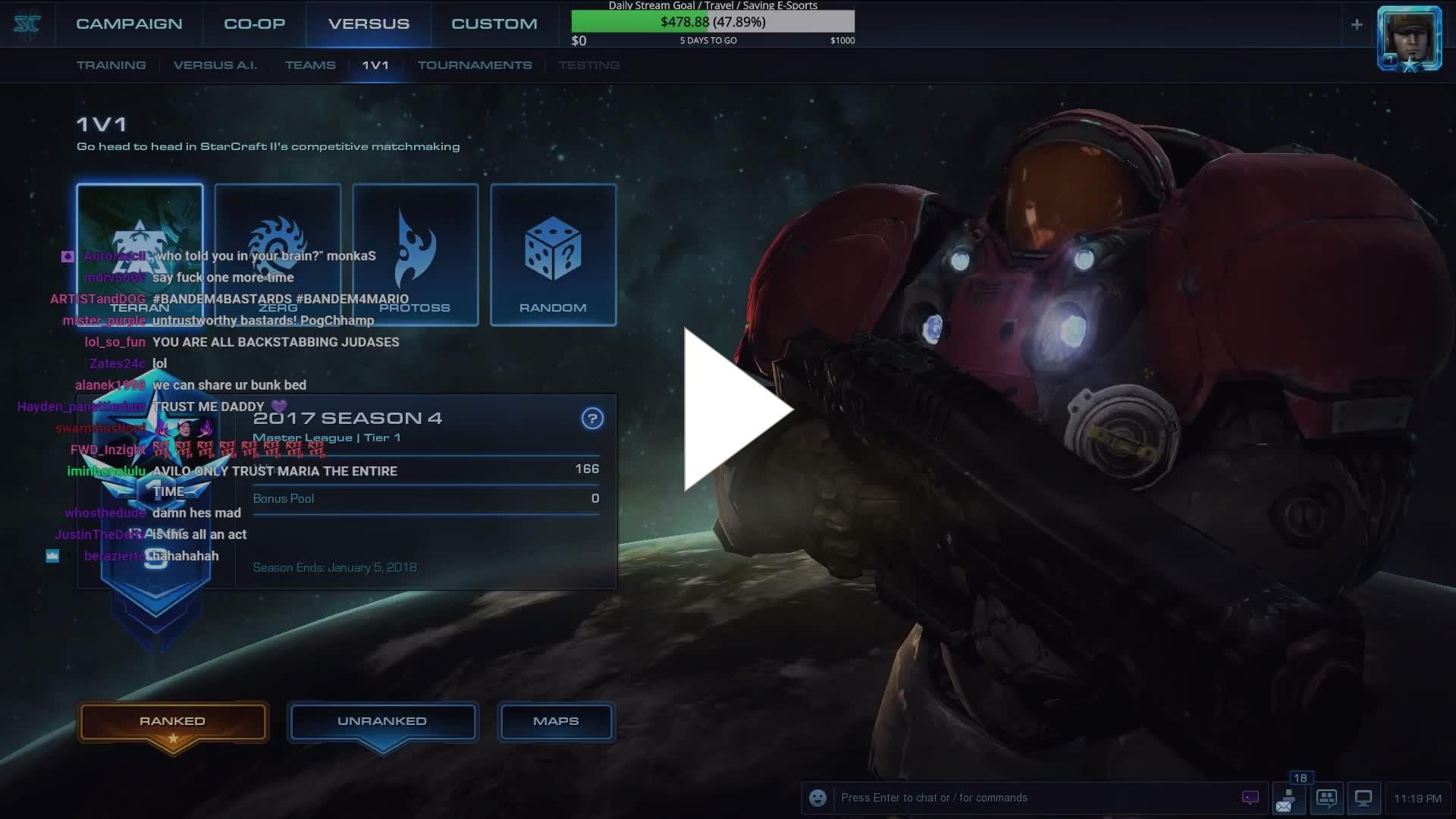 sc2 hots matchmaking