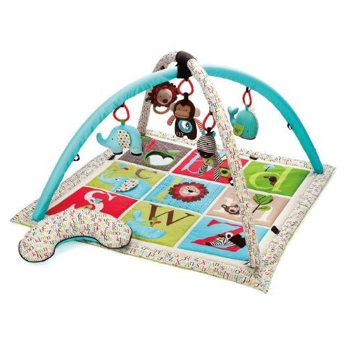 Skip Hop Alphabet Zoo Activity Gym Rockers Baby
