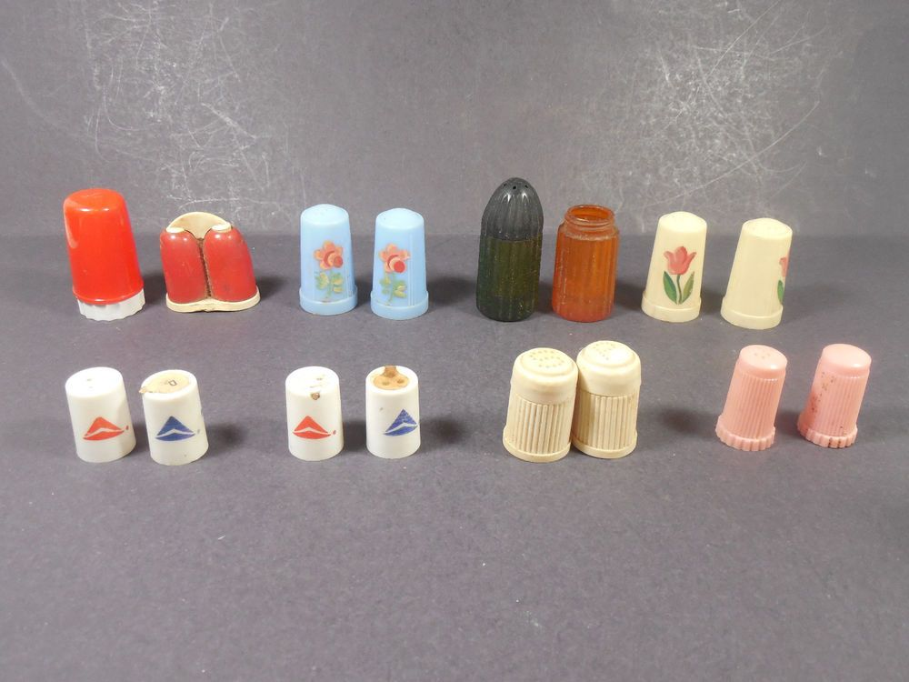 TWA Airlines Vintage Salt and Pepper Shakers