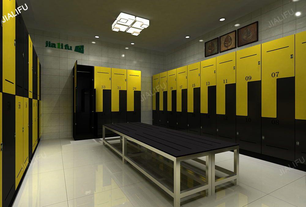 changing room lockers for Ittihad Kalba Sport Club in UAE GYM