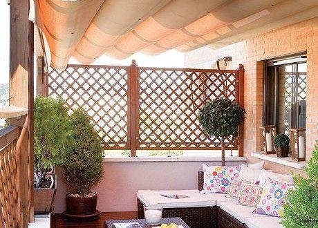Decoraci n de terrazas y balcones ideas originales for Terrazas para departamentos
