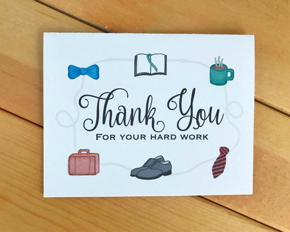 Elder Thank You Card Jw Thank You Thank You Cards Pioneer Gifts