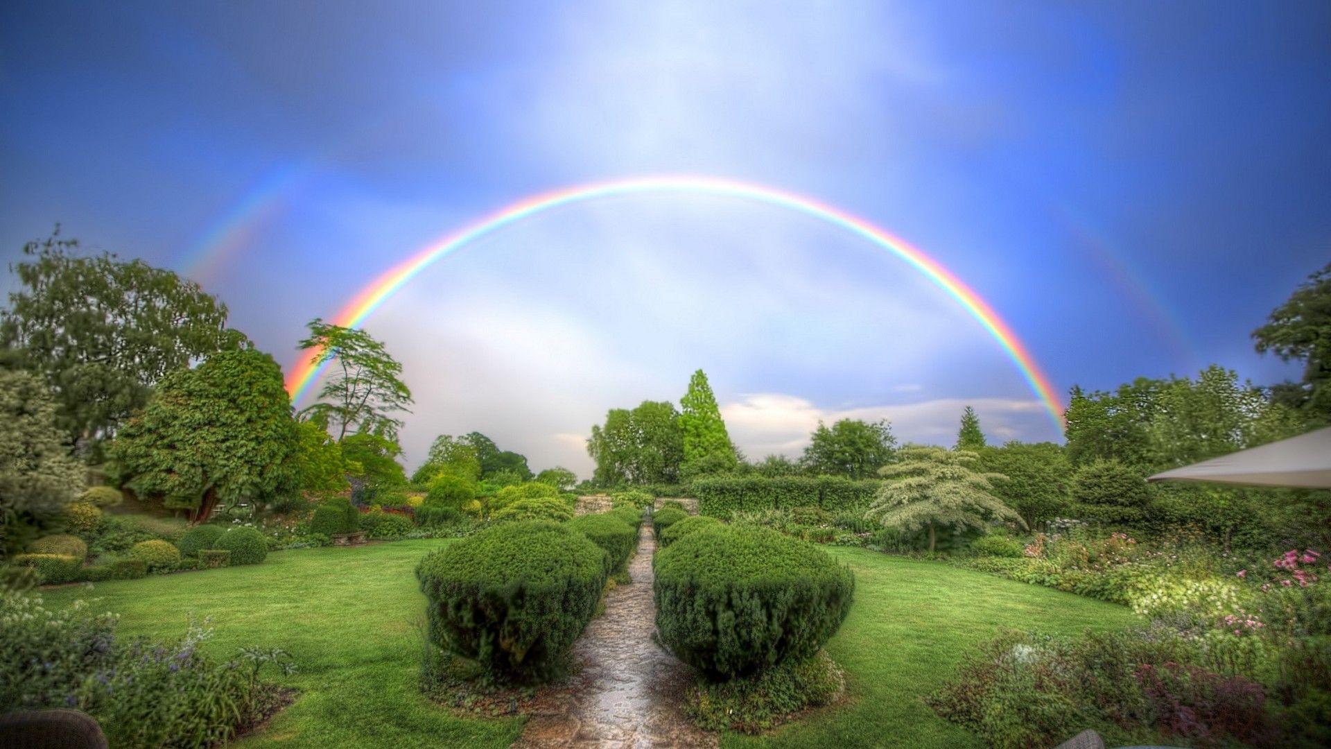 Rainbow Colors Desktop Wallpaper Best Wallpaper Hd New Nature Wallpaper Sky Garden Rainbow Wallpaper Iphone