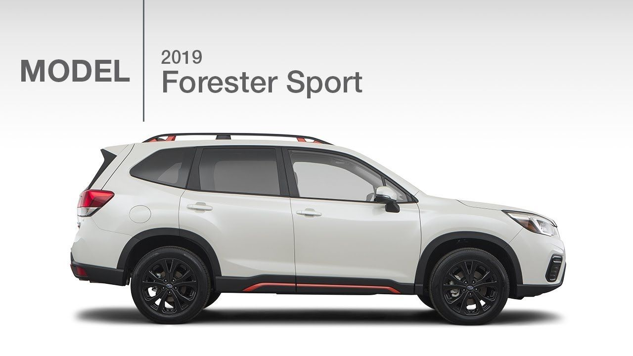 2019 Subaru Forester Sport New Model Review YouTube