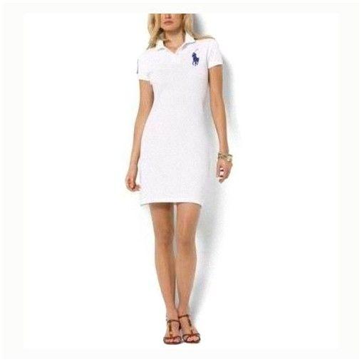 boutique ralph lauren france - Polo Ralph Lauren femme anis Robe en coton à  Rose 9fed83de86e