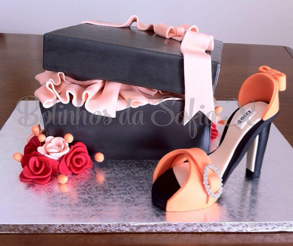 Gucci shoe cake # bolo Gucci # bolo sapato Gucci