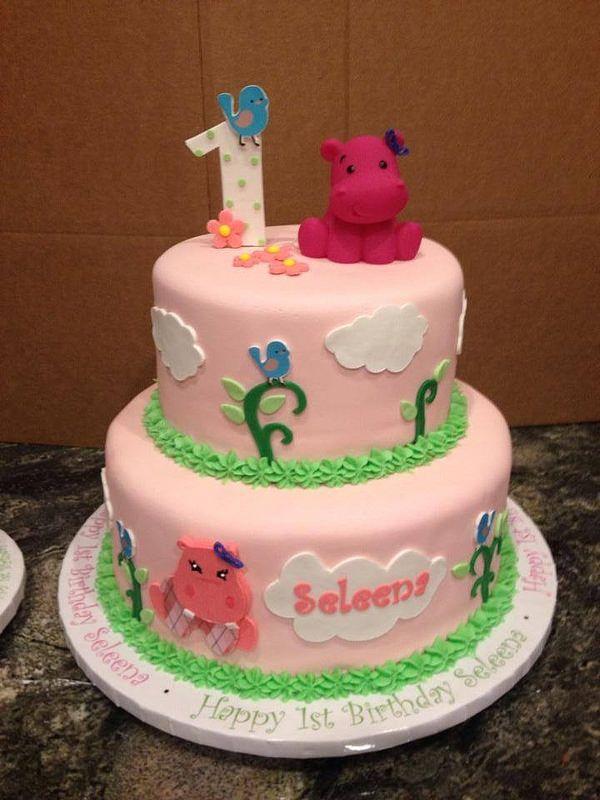 Hippo Birthday Cake Birthday Cakes And Cake