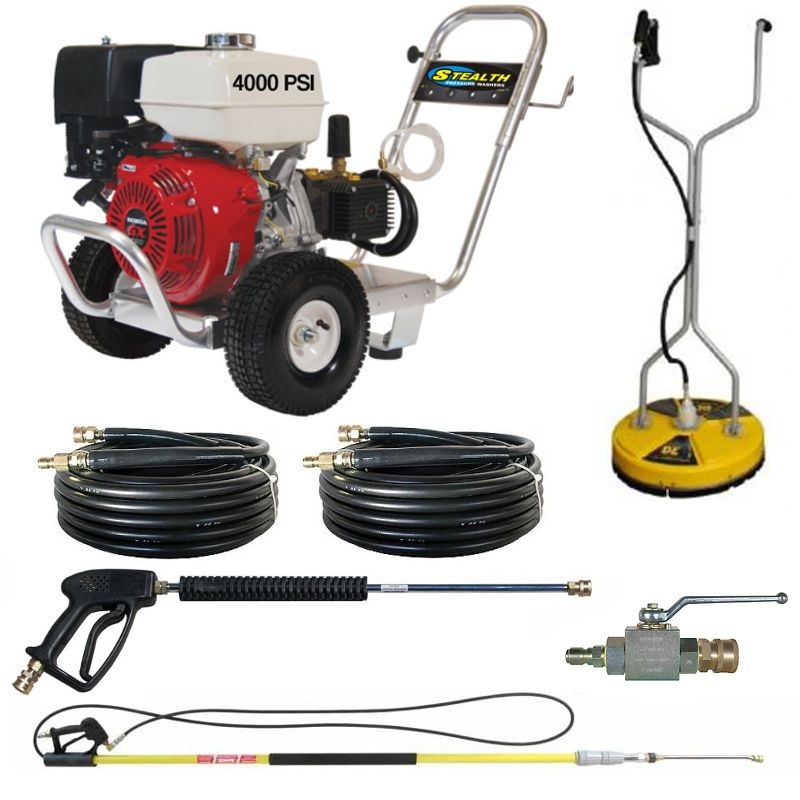 Stealth Start Your Own Pressure Washer Business Pack Be4040 Hgd