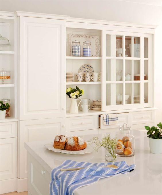 Tres cocinas blancas: un color, tres estilos distintos | Cocinas ...
