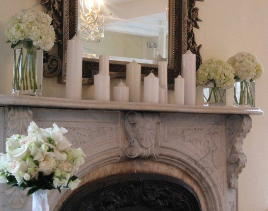 Best 25+ Wedding Fireplace Decorations Ideas On Pinterest