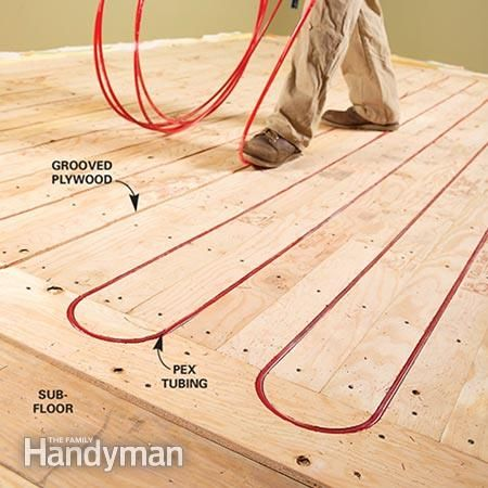 Choosing The Right In Floor Heat Excellent Radiant Floor Heating Primer.  Was Thinking Bathroom Floors For The Luxury, But May Have Better Impact In  ...
