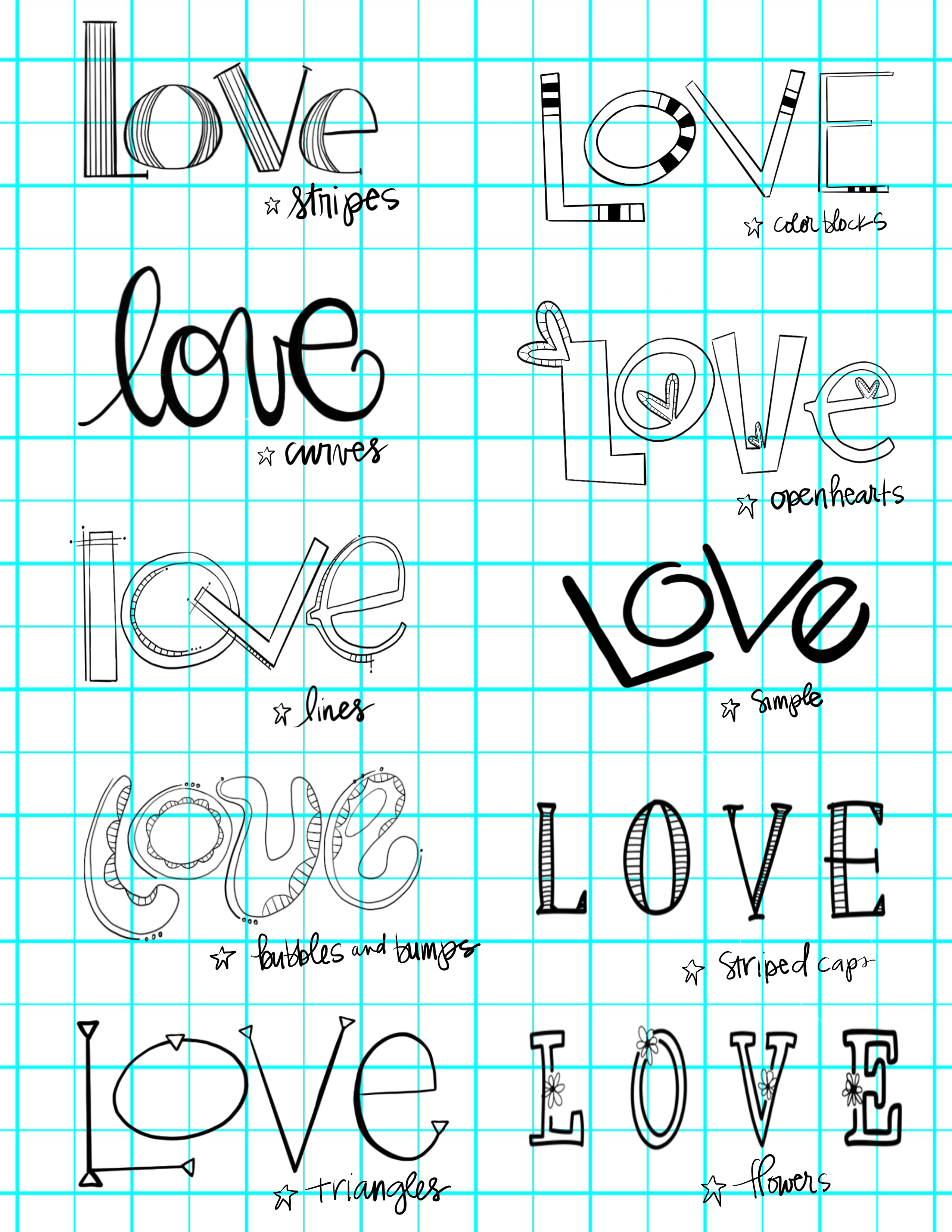 worksheet All Cursive Letters its all about love lettering and lovesuecarroll more