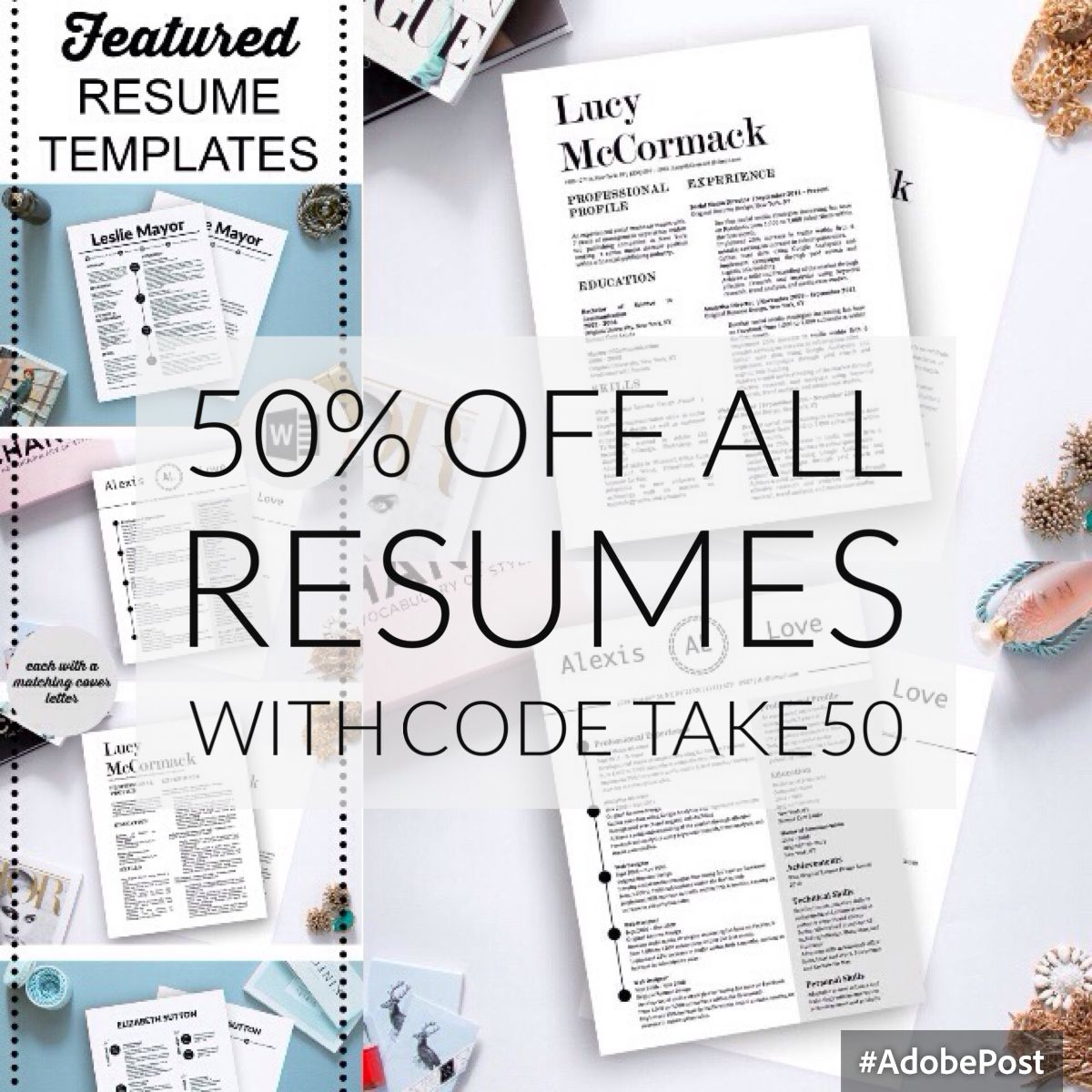 Pin by Stand Out Shop on Resumes Showcase Creative