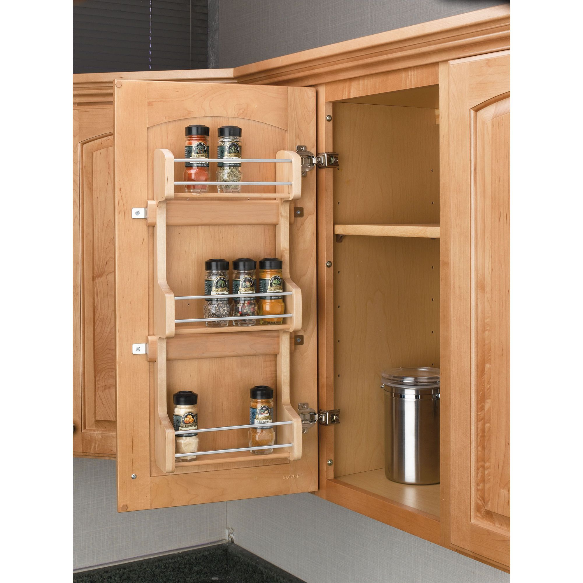 organize awesome and kitchen how cabinet rack roomy ideas spice both to for of cramped