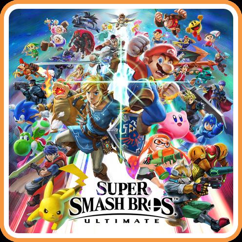 Smash Bros Ultimate Digital Box Art Super Smash Bros Super Smash Bros Game Smash Bros