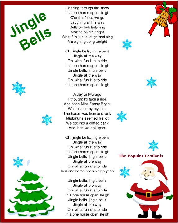 Christmas Carols Songs And Lyrics