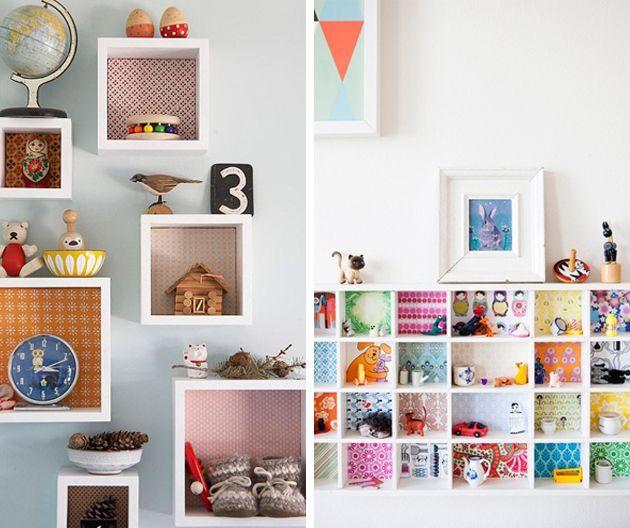 Diy c mo decorar muebles con papel pintado decoraci n - Como decorar un mueble con papel pintado ...