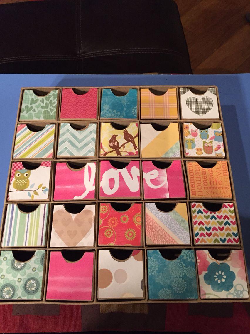 25th wedding anniversary for my husband each box will