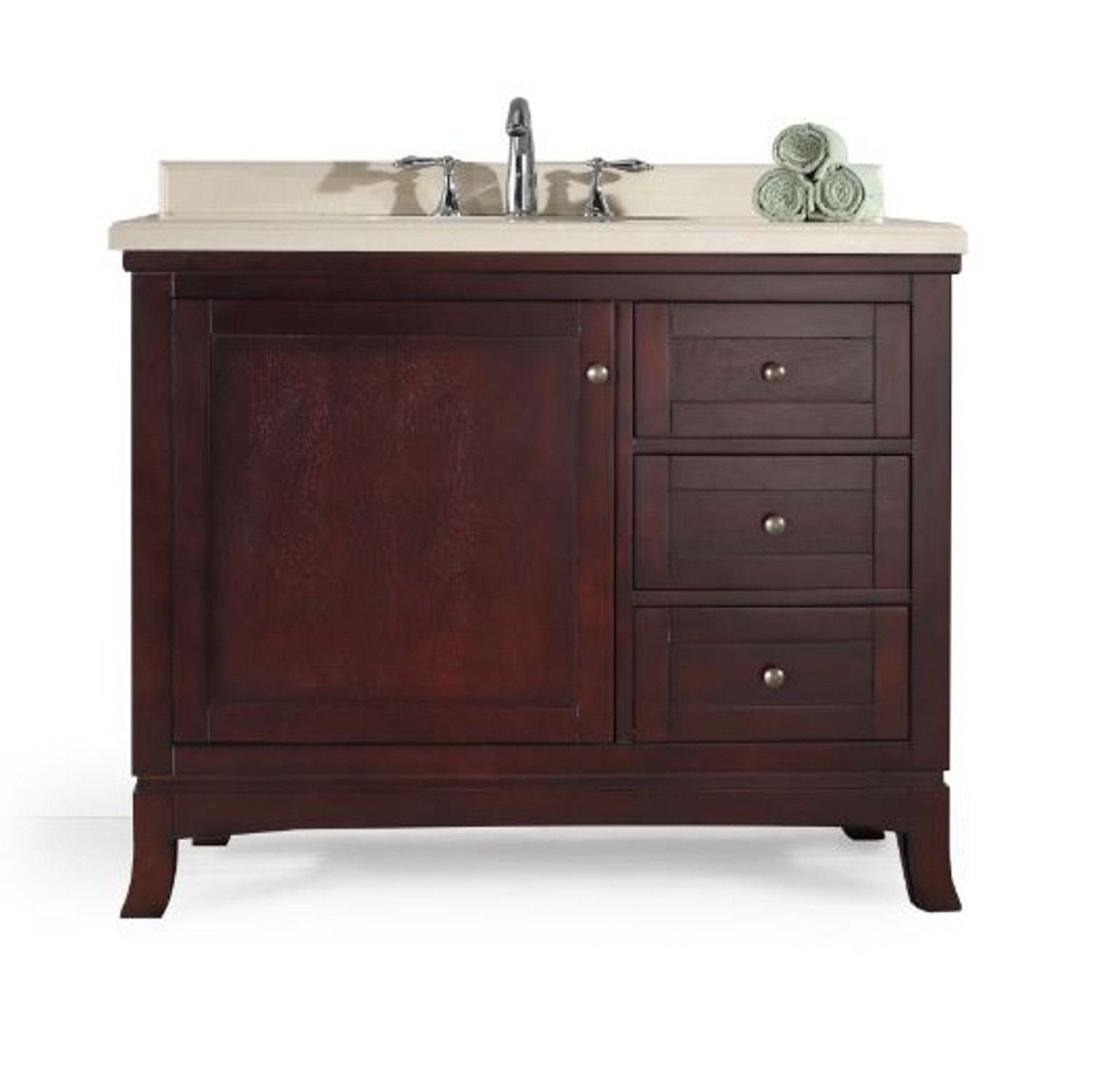 New Plan Save Solid Counter Almond Marble And Stain Vanity In Tobacco Stain Savings 1000