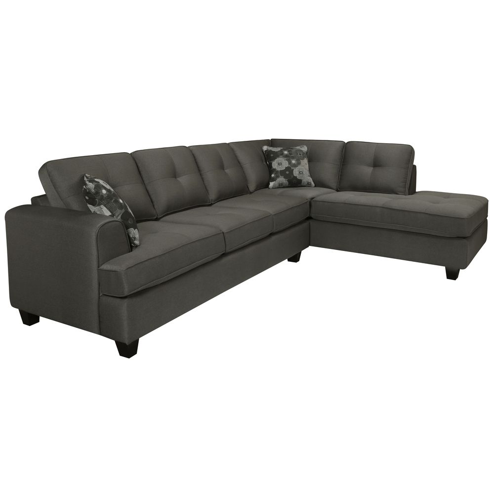 Best Chase Charcoal Grey Sectional Sofa Grey Sectional Sofa 400 x 300