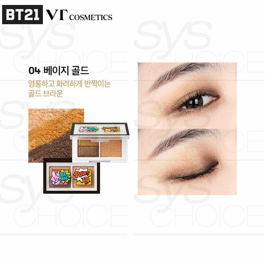 BTS BT21 Official VT Cosmetics ART IN MULTI EYE SHADOW 1 3g 1 3g
