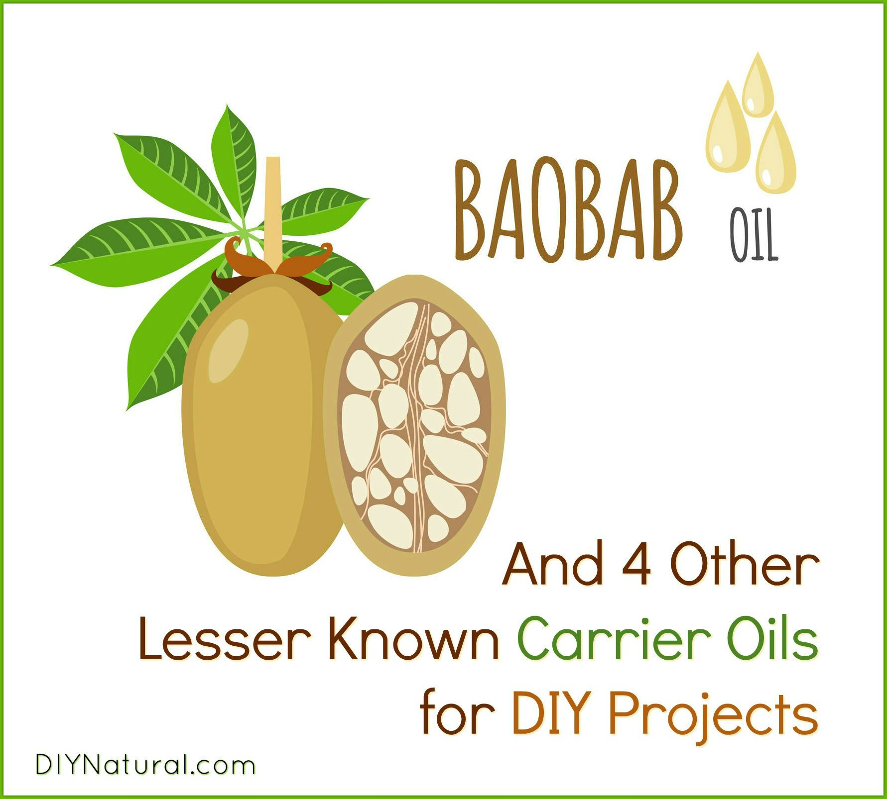 5 lesser known carrier oils and how (& why) to use them.