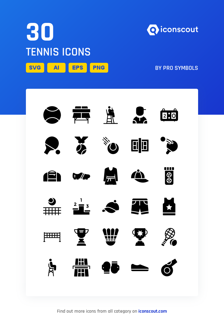 Download Tennis Icon Pack Available In Svg Png Eps Ai Icon Fonts Icon Pack Icon Glyph Icon