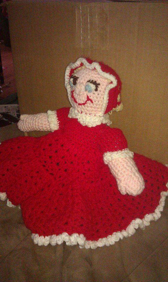 Topsy Turvey Doll Baby side - Maryann Boden