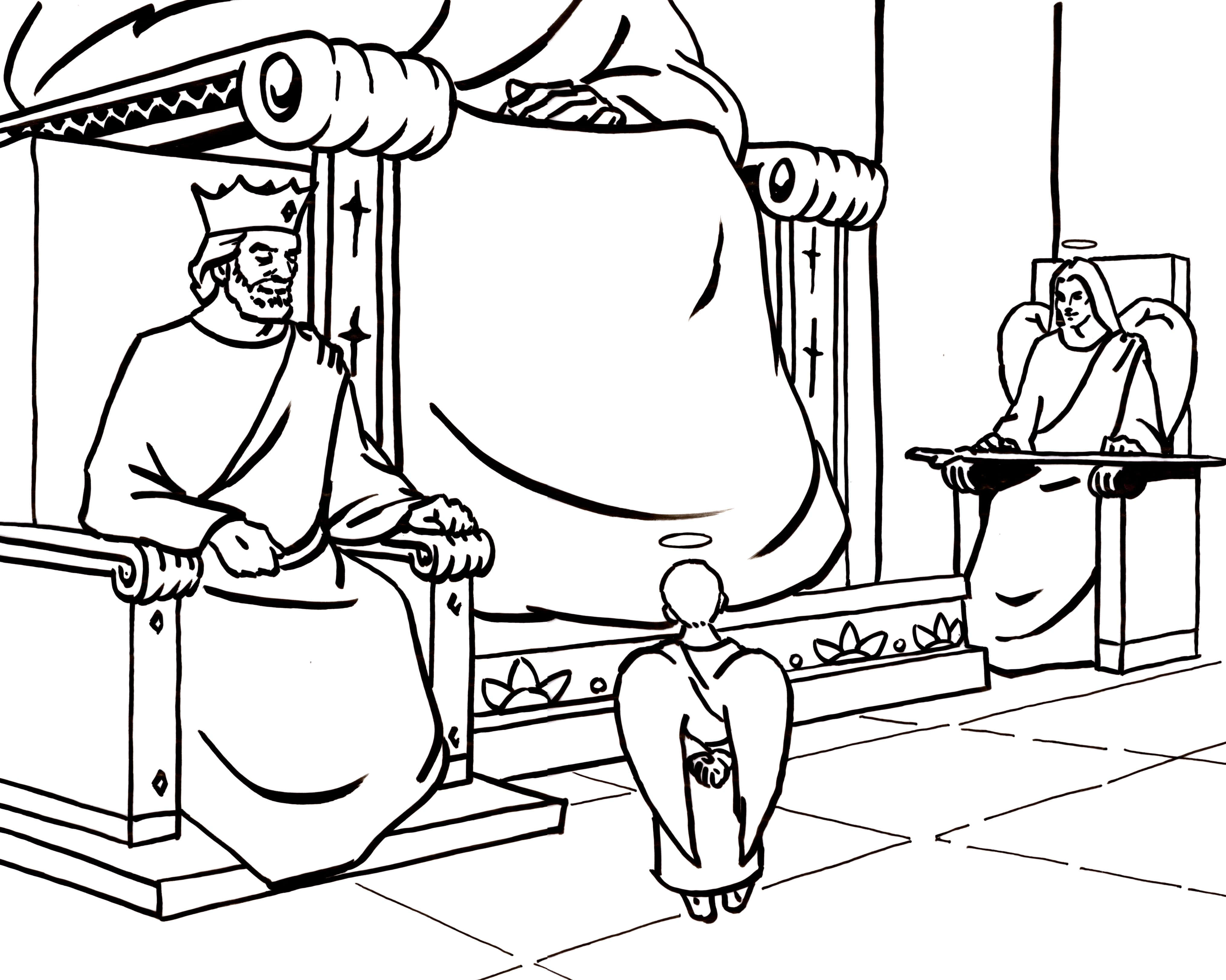 The Heaven is for Real App has beautiful coloring pages that you can ...