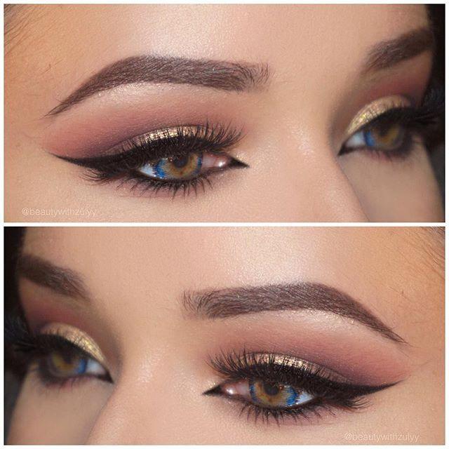 Gold Lids Nice Wing I Like The Inner Cat Eye Beauty