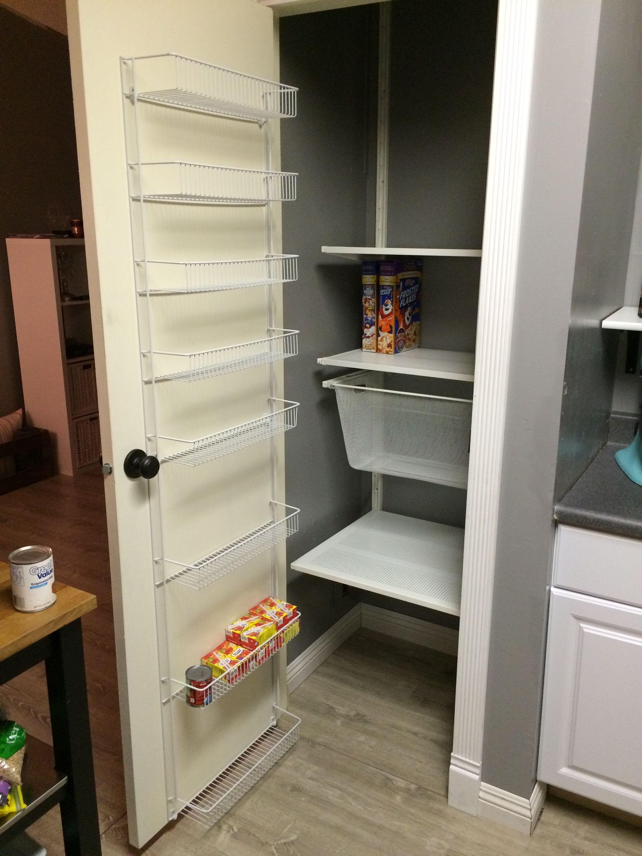 pantry door rack ikea pantry