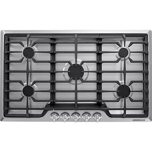 Kenmore Pro 34423 36 Gas Drop In Cooktop Stainless Steel Cooktop Kenmore Pro
