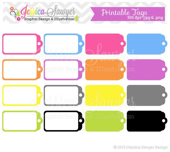 INSTANT DOWNLOAD, printable sale tags, tag clipart, printable ...