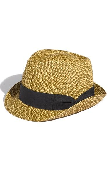 David   Young Straw Fedora (Juniors) available at  Nordstrom  9146a20a9c2