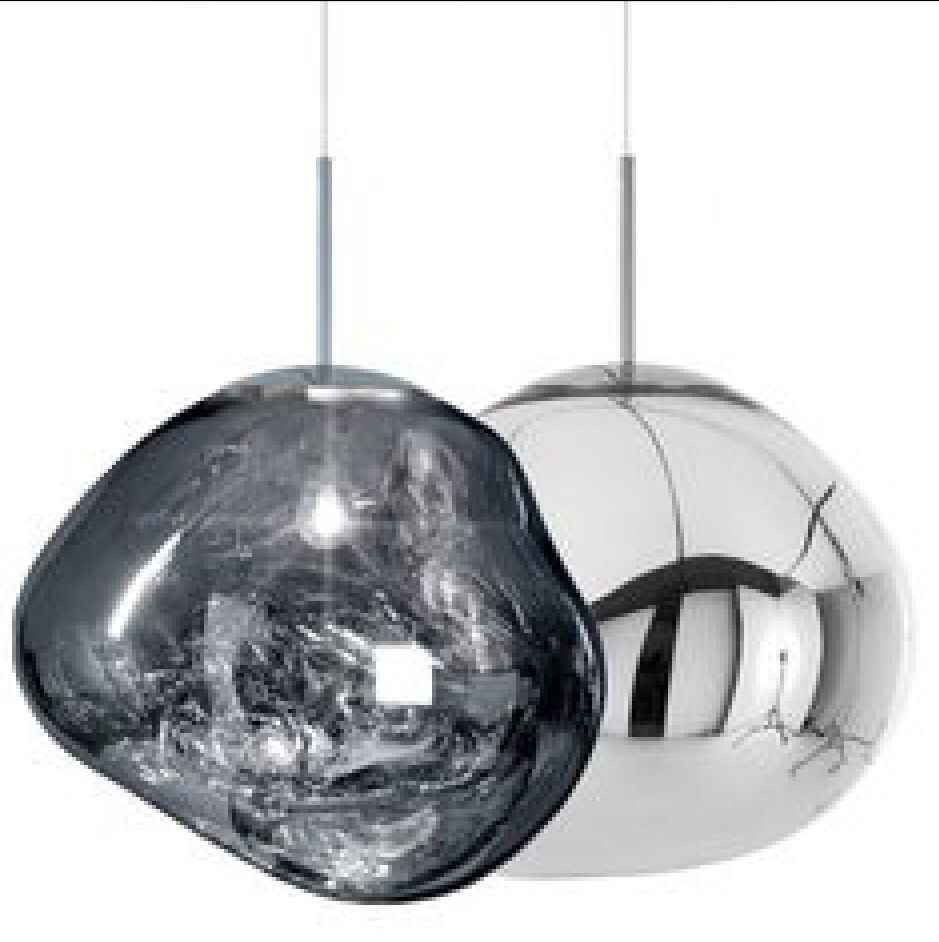 Chrome Melt Tom Dixon Melt Tom Dixon Lighting Tom Dixon