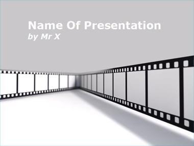 Cinema Frame Powerpoint Template