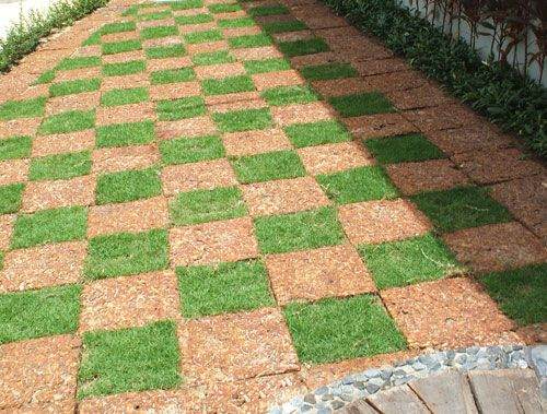 Landscaping Pavers Ideas : Garden pavers path big backyard ideas paver designs
