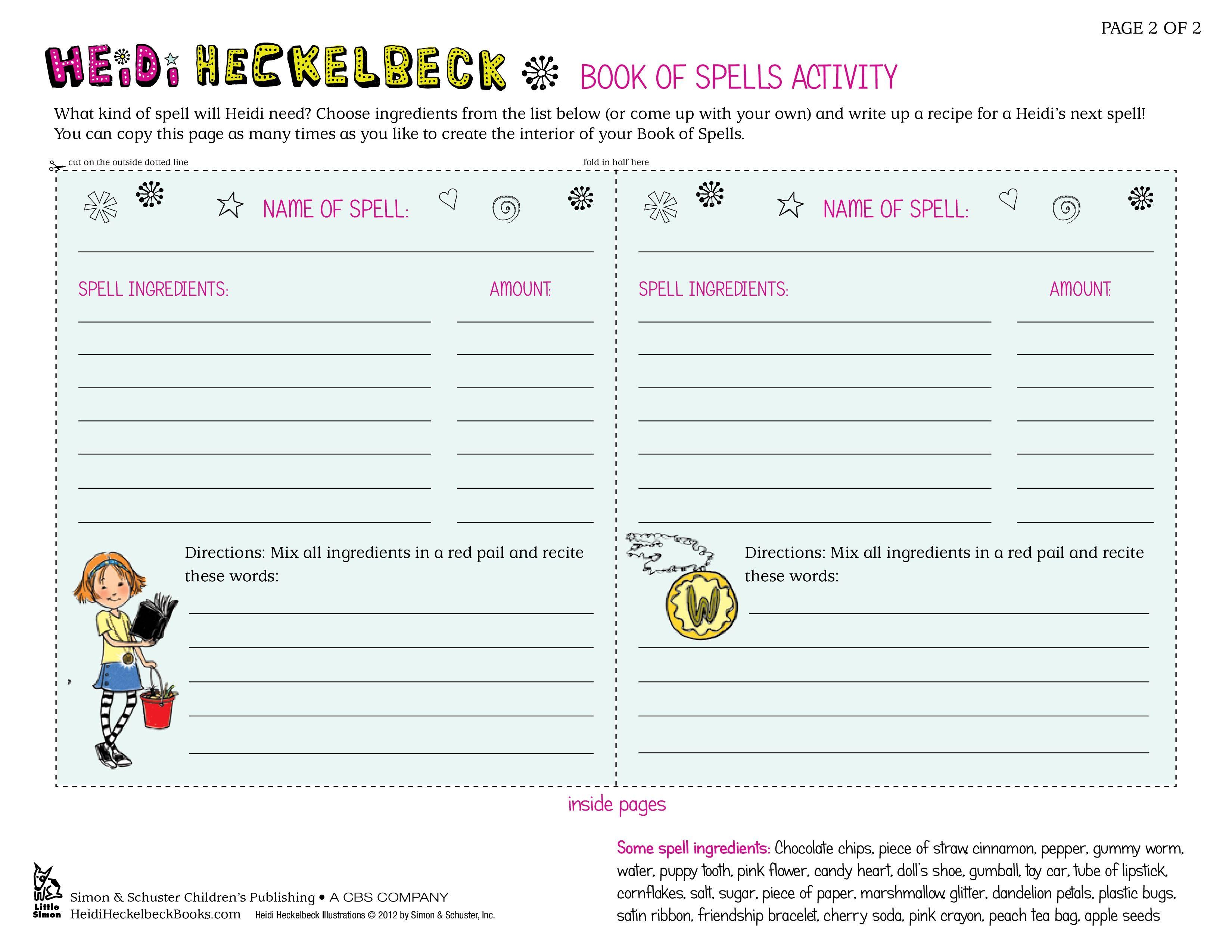 Heidi Hecklebeck - Book of Spells (Page 2)