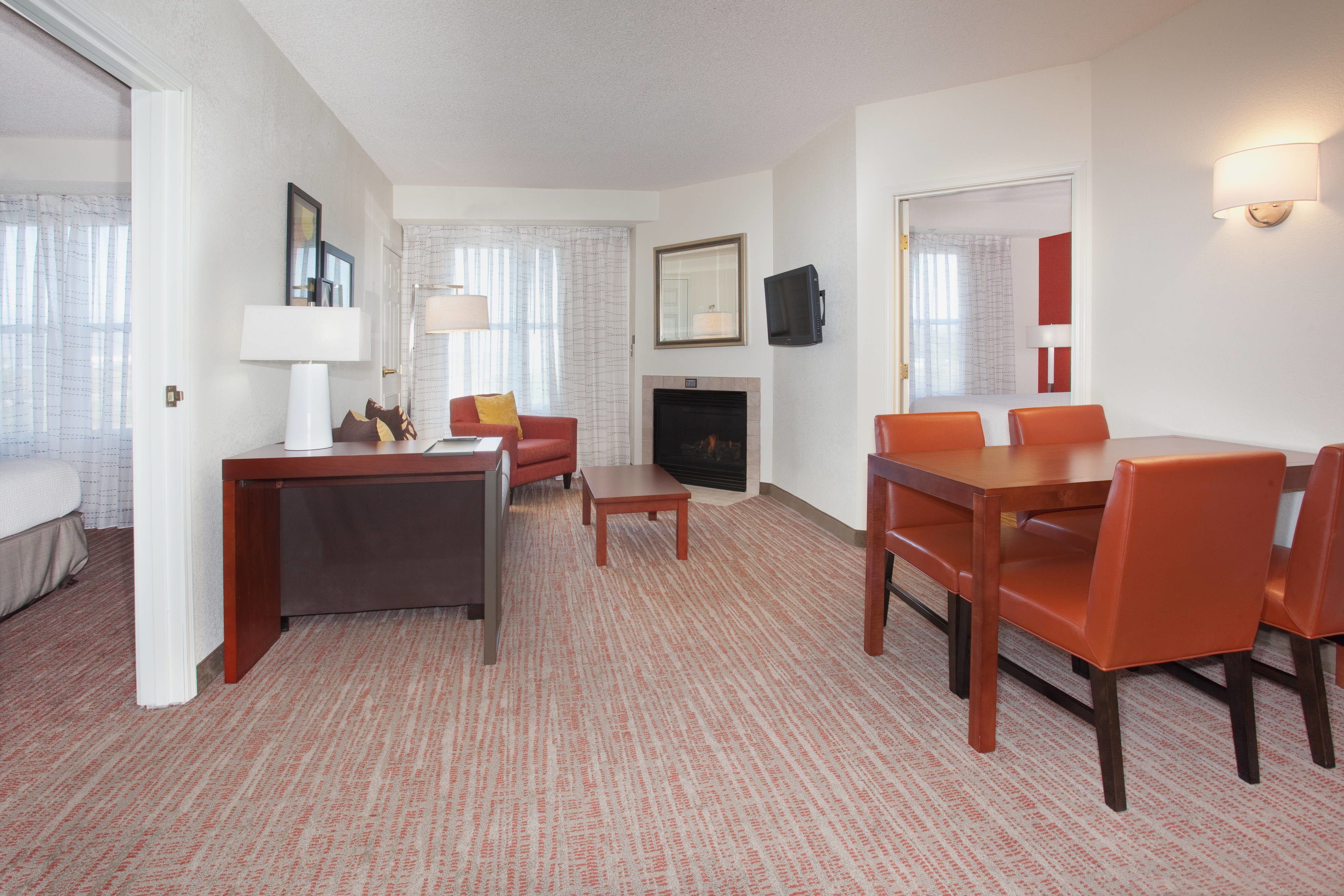 Residence inn salt lake city airport twobedroom suite hotel
