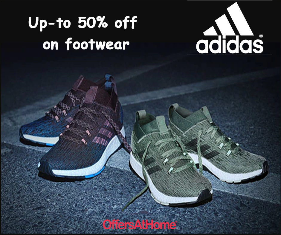 Adidas Coupons, India Offers Adidas, On shoes, Footwear