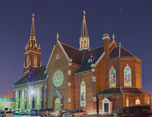 Saint Agatha Roman Catholic Church In Saint Louis Missouri Usa