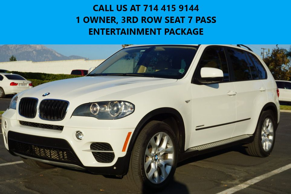 2011 Bmw X5 Awd 3rd Row Seat Entertainment Pkg Suv Bmw Xdrive Mint 1 Owner Alpina White 50k 7 Seated Ent Pkg Heated Seat Deal In 2021 Bmw Xdrive Bmw X5 Bmw X5 For Sale