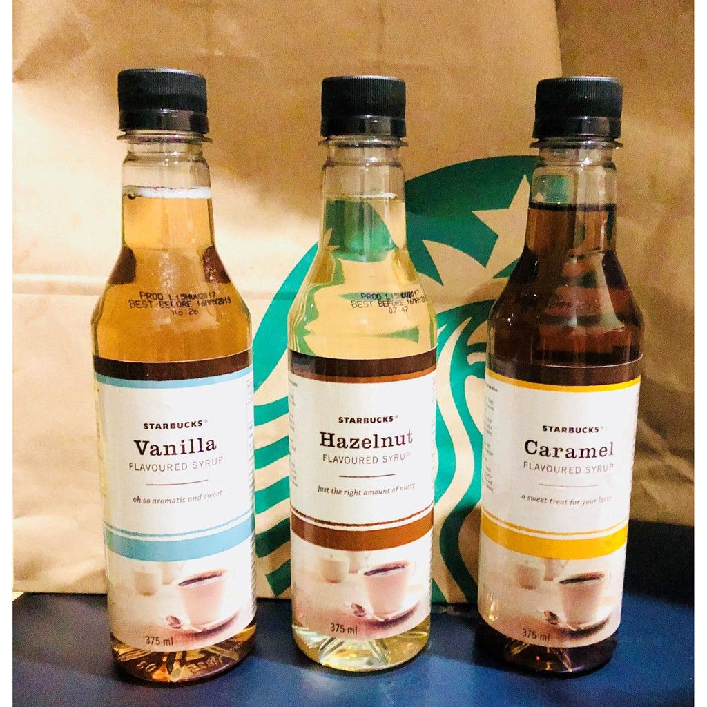 Starbucks Flavoured Syrups (With images) | Flavored syrup ...