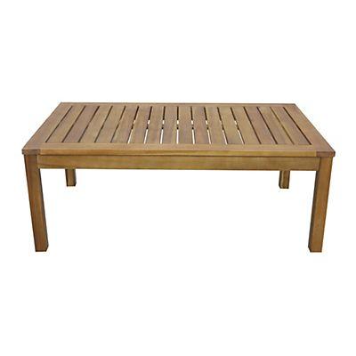 Cocoon Garden Table basse de jardin en acacia salon de jardin