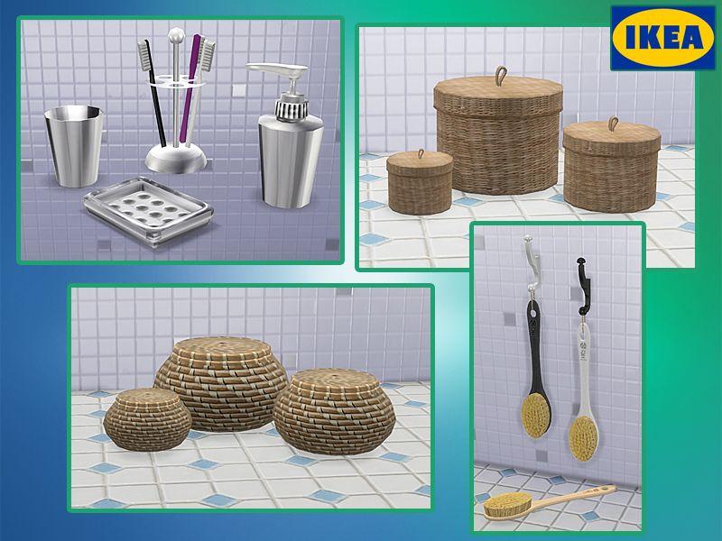 "Corporation ""SimsStroy"": The Sims 4. Decor for Bathroom ..."