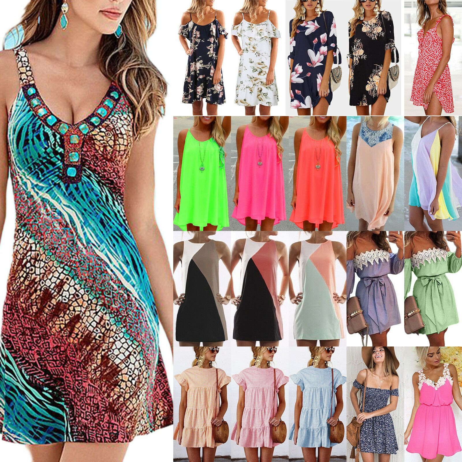 Plus Size Womens Bodycon Evening Party Cocktail Club Midi Dress Summer Casual Plus Size Party Dresses Plus Size Party Dresses Coral Maxi Dresses Coral Dress [ 1600 x 1600 Pixel ]