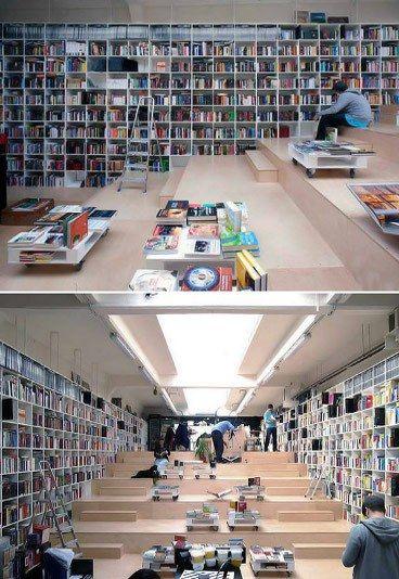 Plural Bookshop, Bratislava, Eslovaquia.