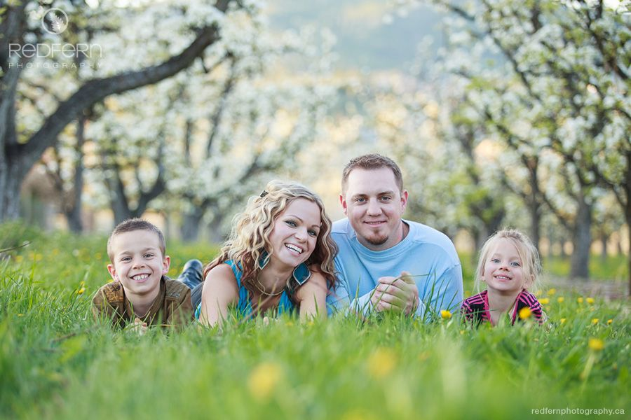Family Pictures Spring